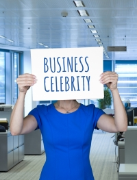 business celebrity