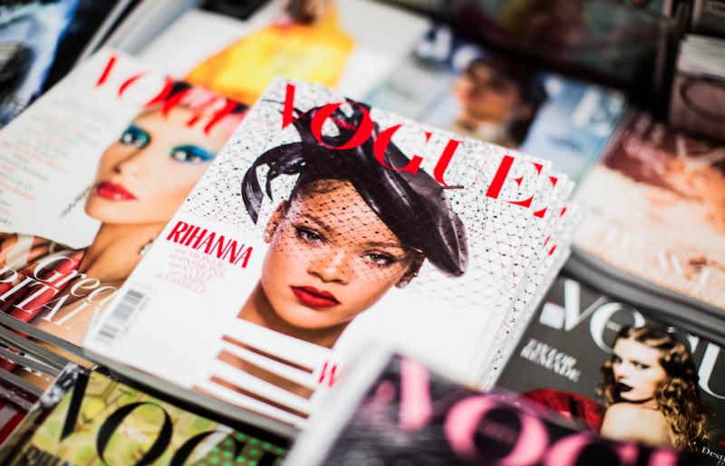 Copertina Vogue ufficio stampa per il personal branding
