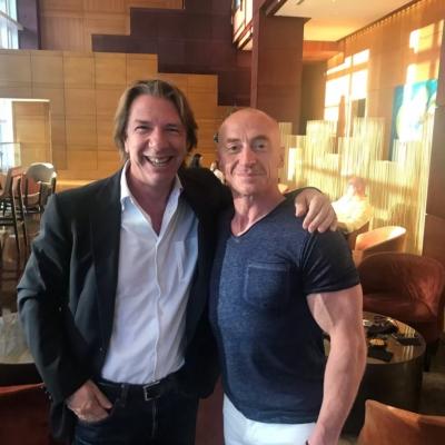 Daniele Viganò e Jury Chechi